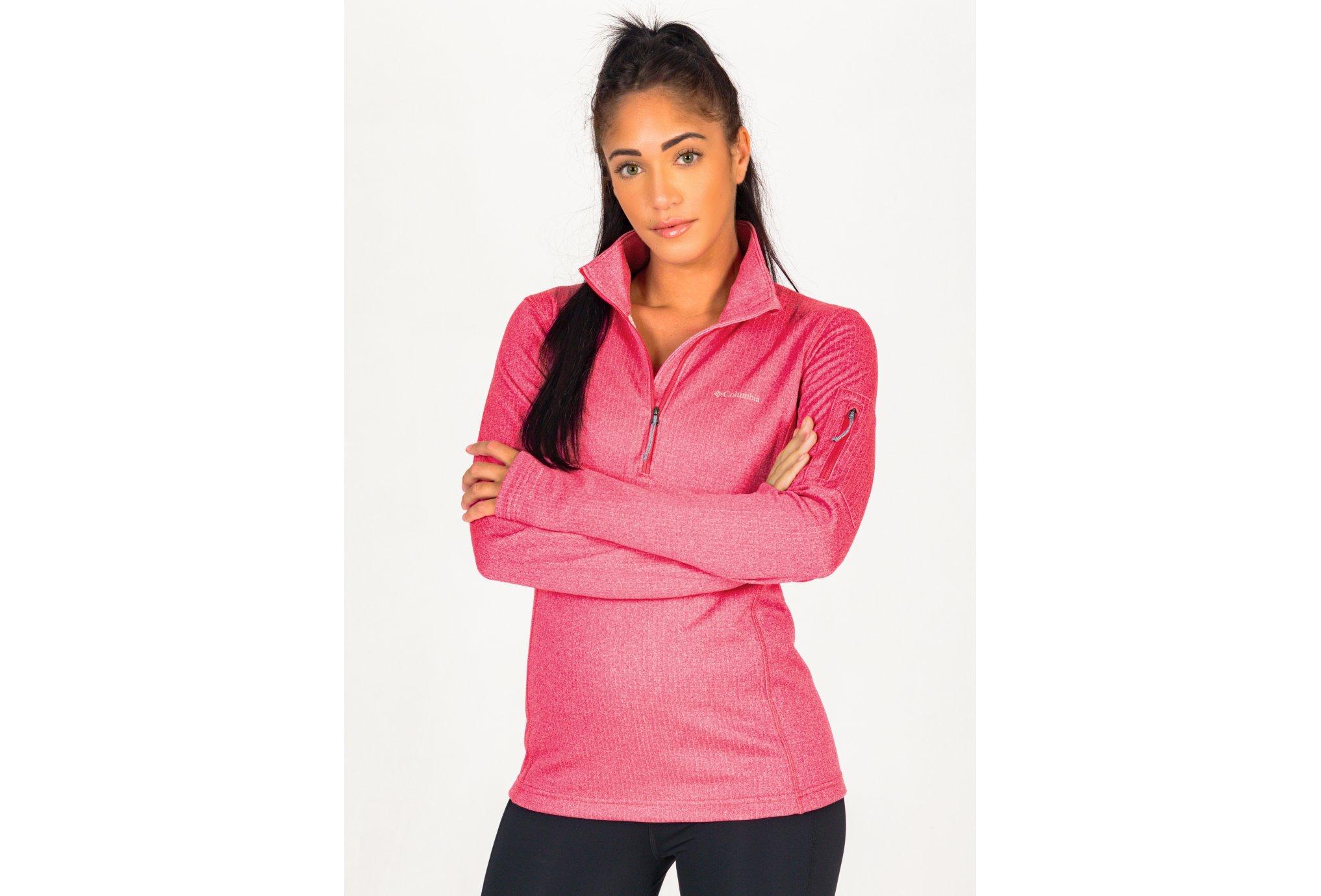 Columbia Park View Grid Fleece W vêtement running femme
