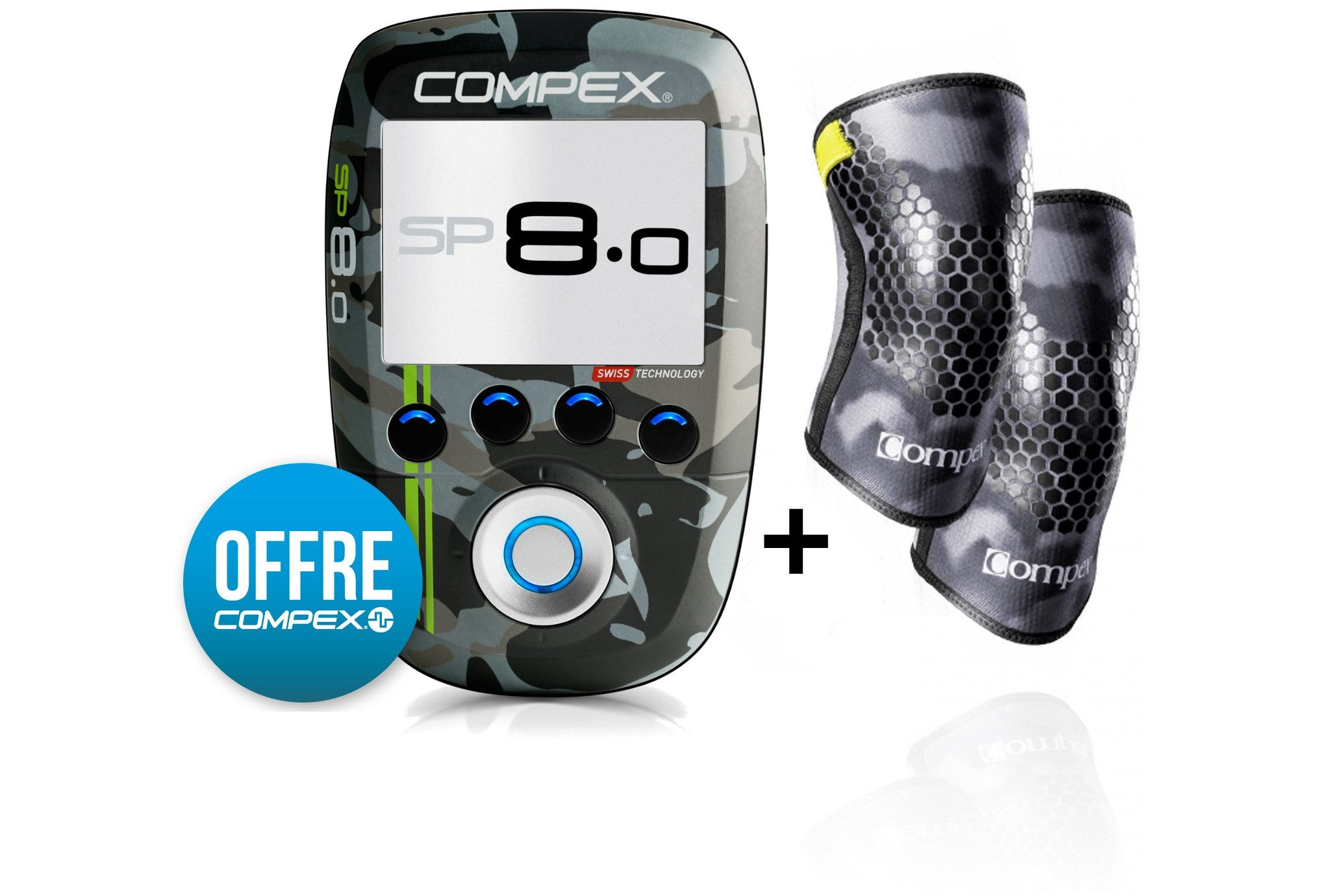 Compex Pack SP 8.0 WOD Edition Electrostimulateur
