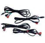 Compex Set de 4 câbles Snaps