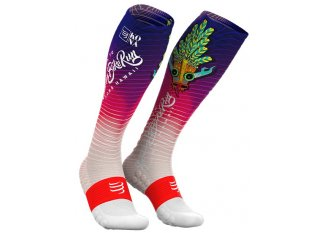 Compressport Calcetines Full Socks Oxygen Kona 2018