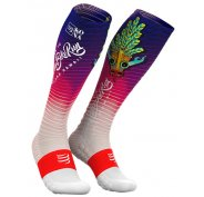 Compressport Full Socks Oxygen Kona