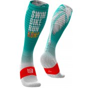 Compressport Full Socks Oxygen Kona