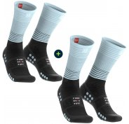 Compressport Pack 2 paires Mid Compression