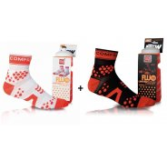 Compressport Pack Chaussettes Pro Racing V2 Run High + bidons