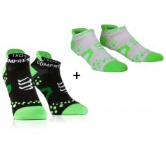 Compressport Pack Chaussettes Pro Racing V2 Run Low