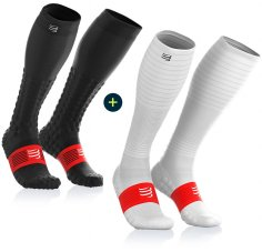 Compressport Pack Full Socks Detox Recovery + Full Socks Oxygen