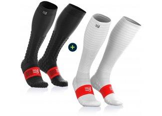 Compressport pack Full Socks Detox Recovery + Full Socks Oxygen