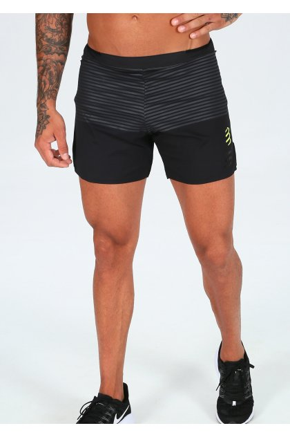 Compressport pantalón corto Performance Black Edition