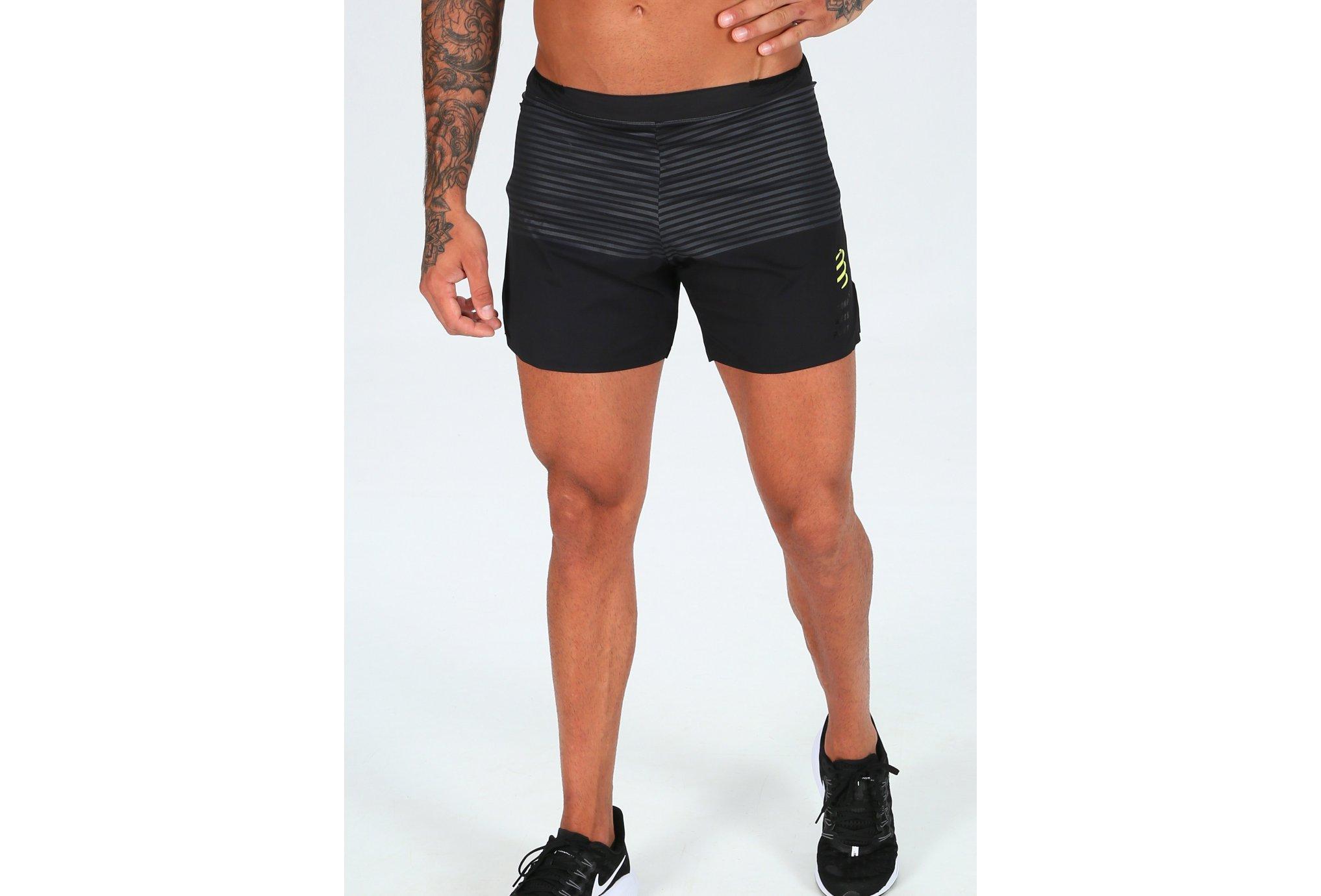 Compressport Performance Black Édition M vêtement running homme