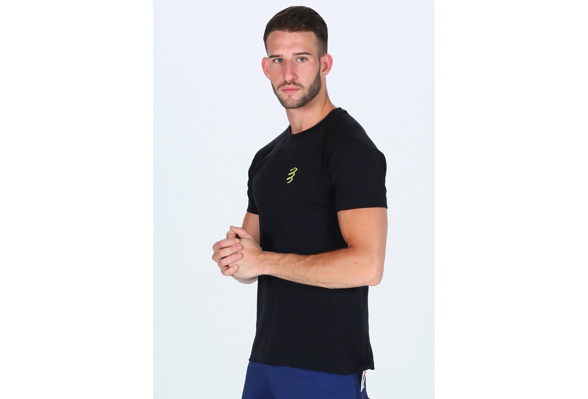 Compressport Training Black Edition M vêtement running homme