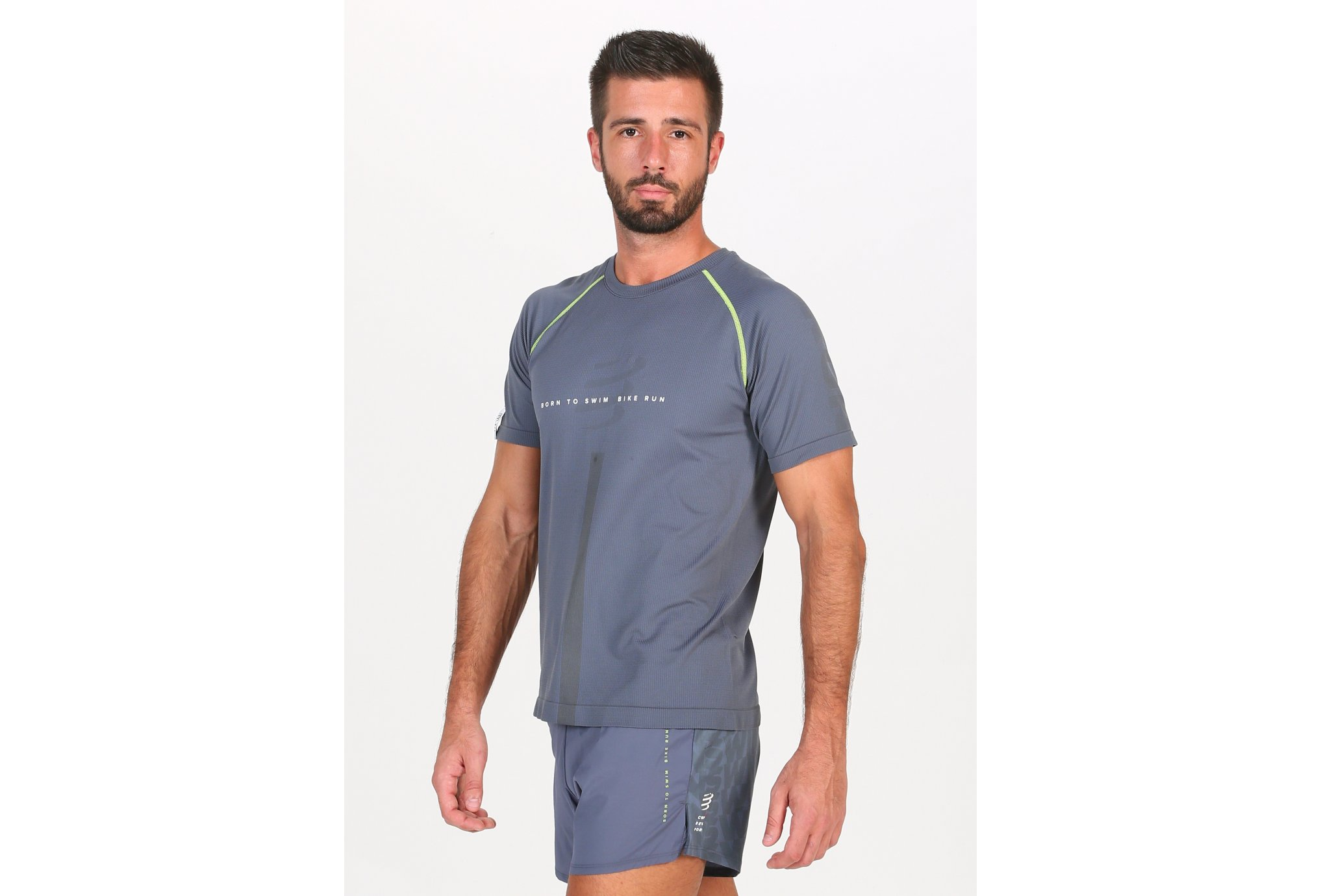 Compressport Training Born To SwimBikeRun 2020 M vêtement running homme