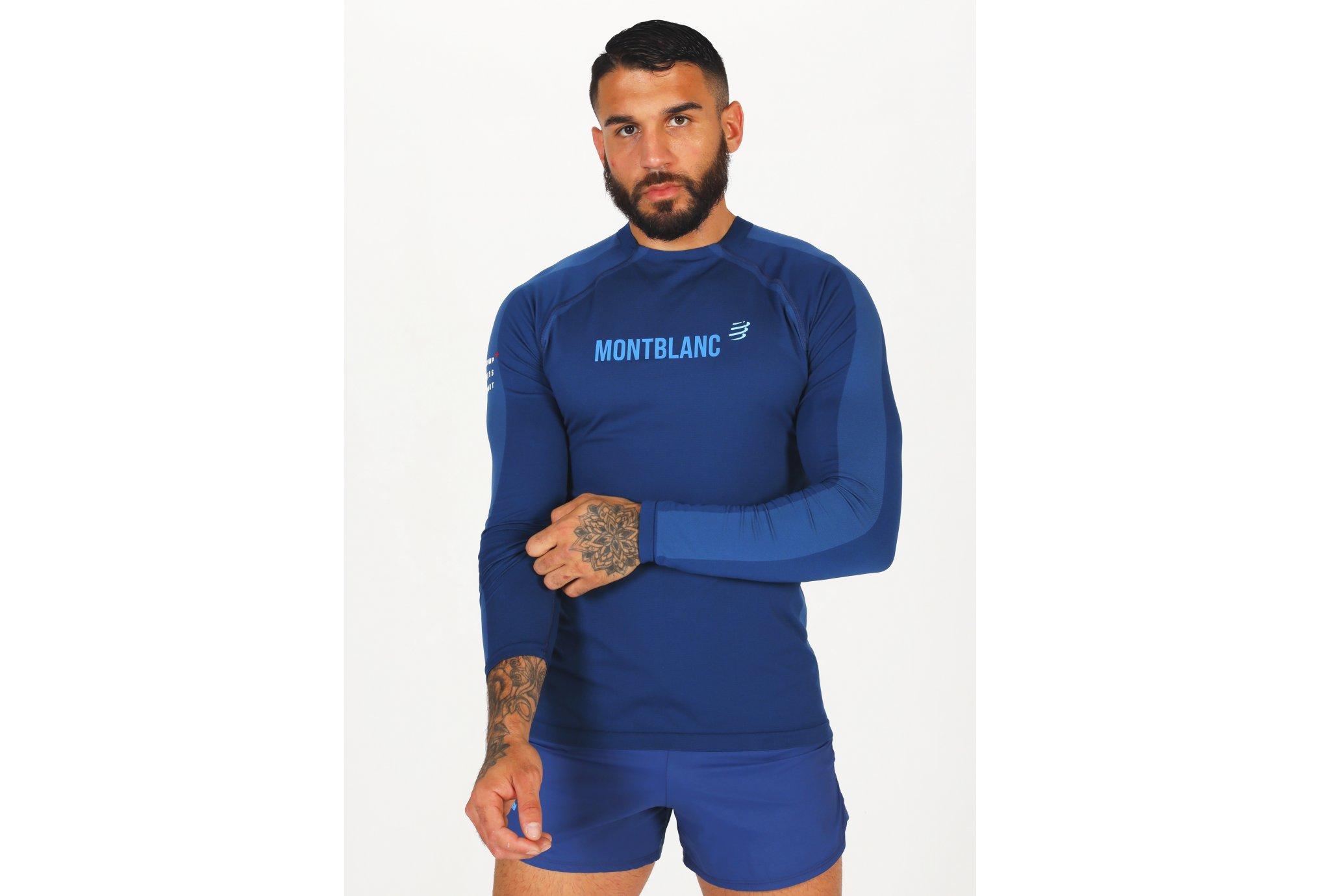 Compressport Training Mont Blanc 2021 M vêtement running homme