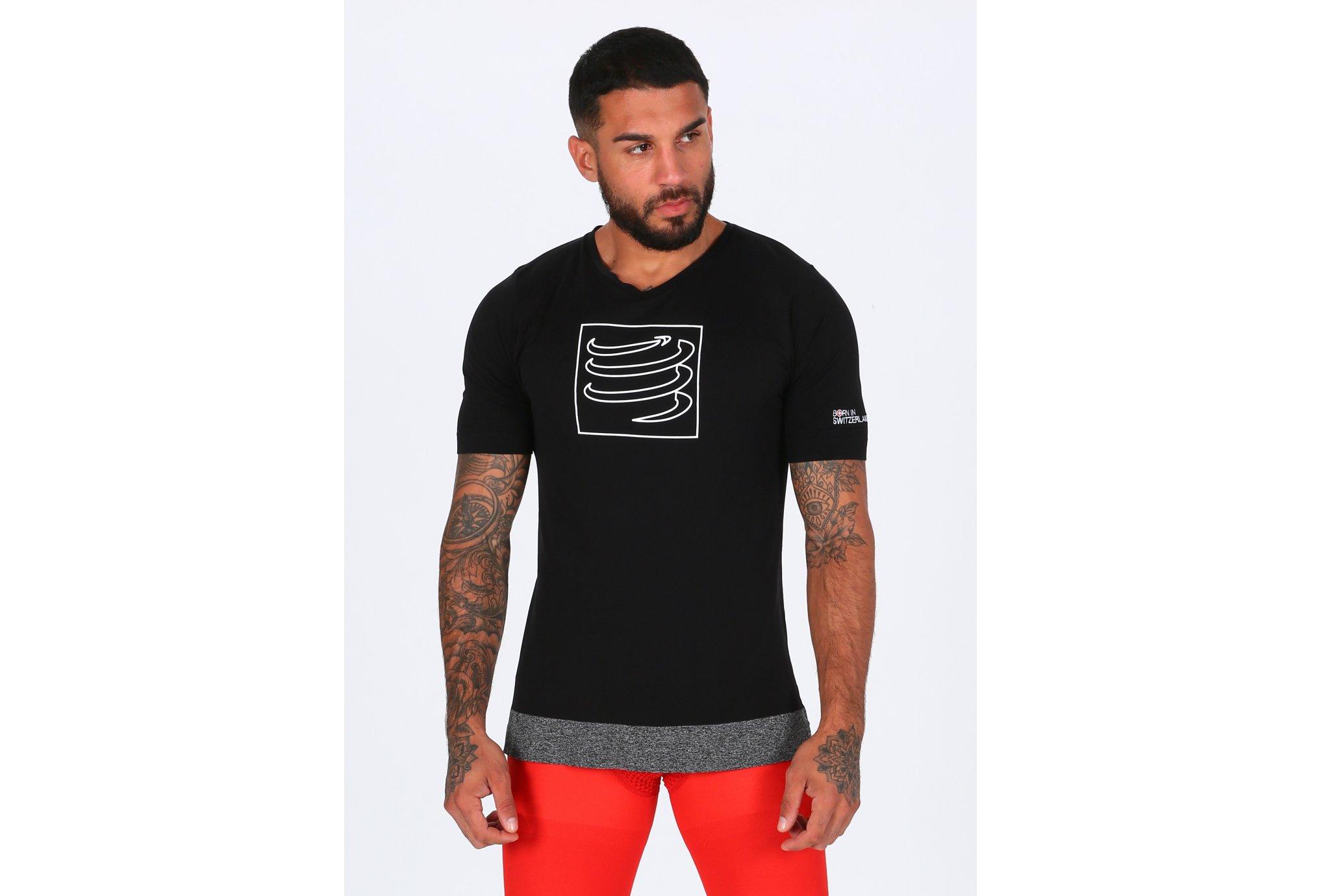 Compressport Training Tshirt M Diététique Vêtements homme