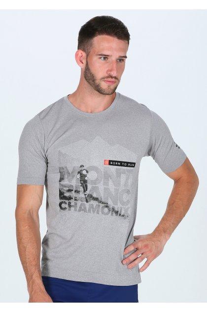 Compressport Camiseta manga corta Training Tshirt Mont Blanc 2018