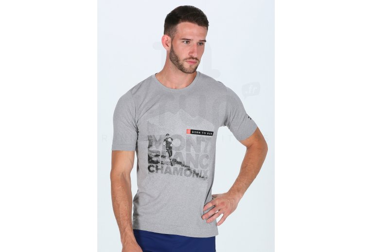 Compressport Training Tshirt Mont Blanc 2018 M