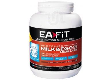 EAFIT Milk & EGG 95 micellaire 750g chocolat