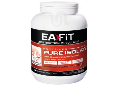 EAFIT Protéines Pure Isolate 750g - chocolat