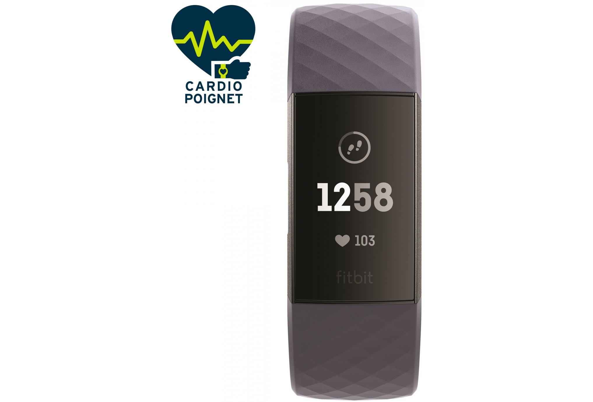 Fitbit Pulsera de actividad Charge 3 Bracelets d'activité