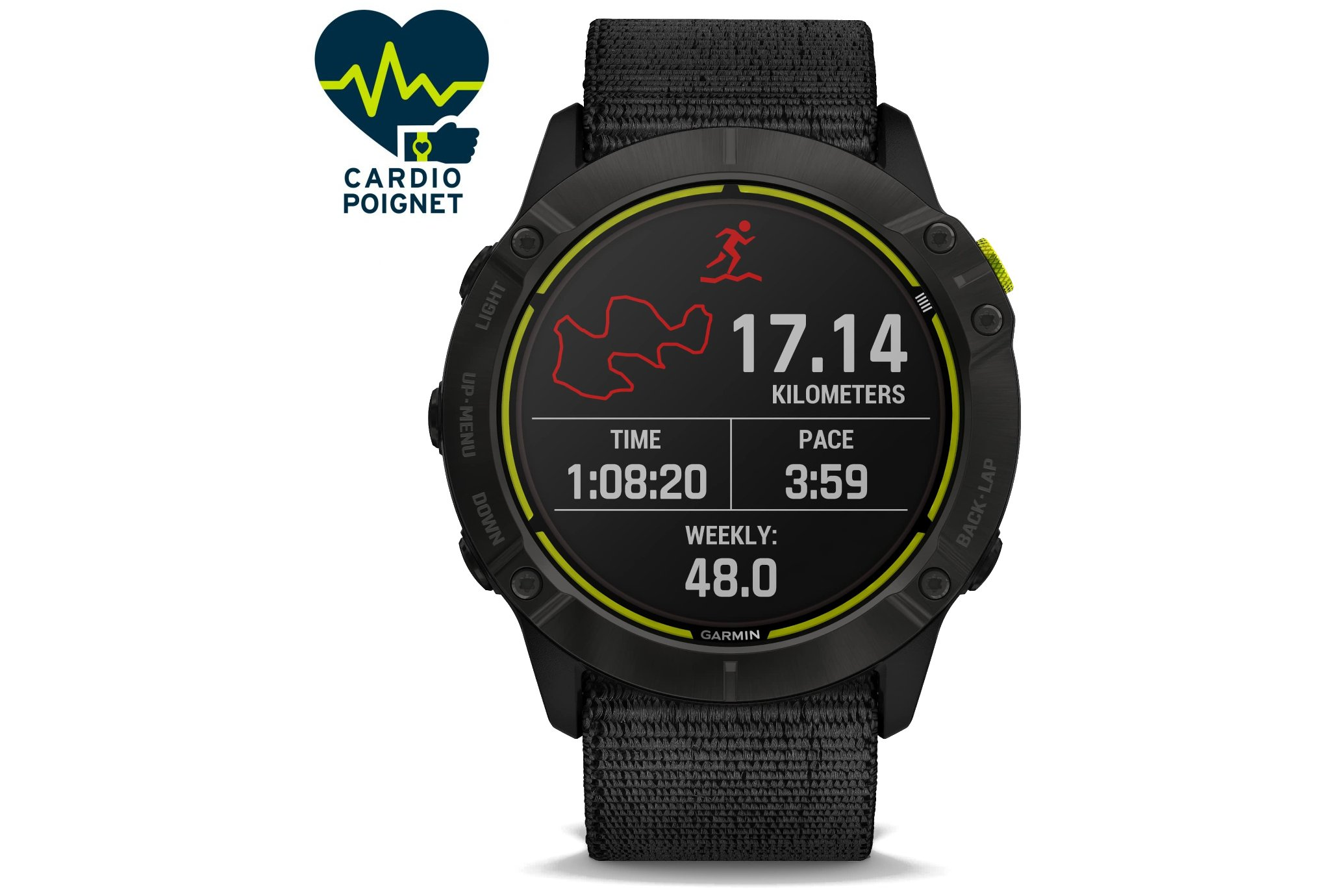 Garmin Enduro Solar Titane Cardio-Gps