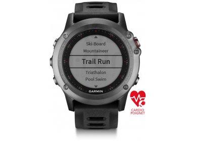 Garmin Fenix 3 GPS Sapphire HR Cardio-poignet