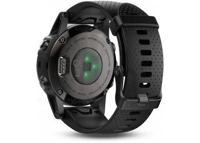 Garmin Fenix 5S GPS Multisport Sapphire Black + Bracelet Offert