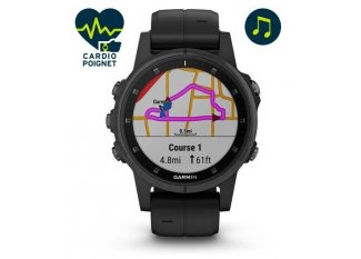 Garmin Fenix 5S Plus Black Zafiro