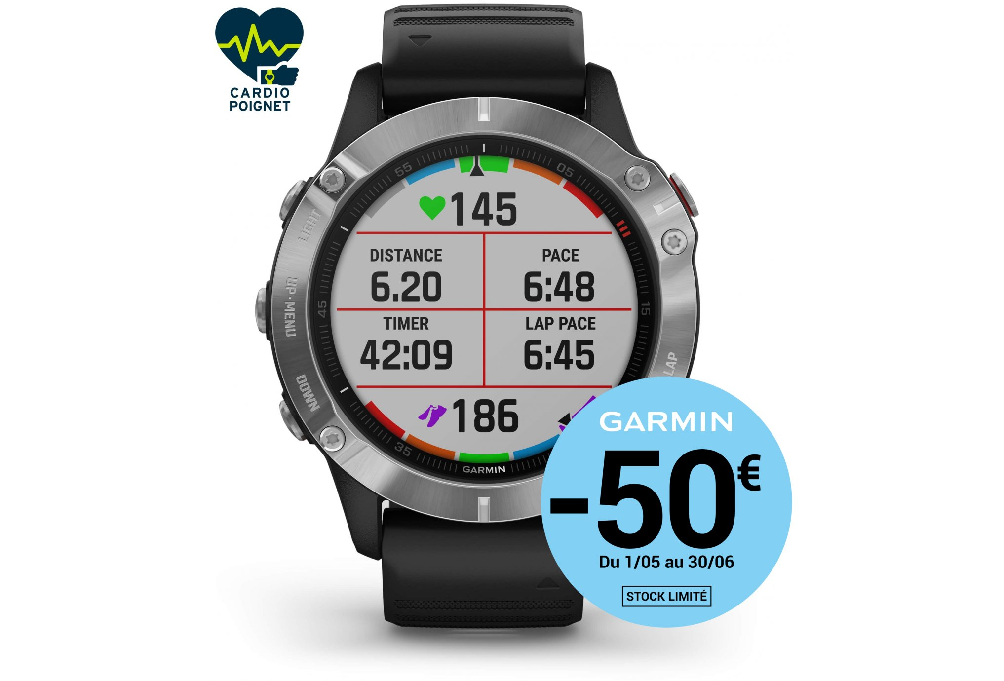 Garmin Fenix 6 Cardio-Gps