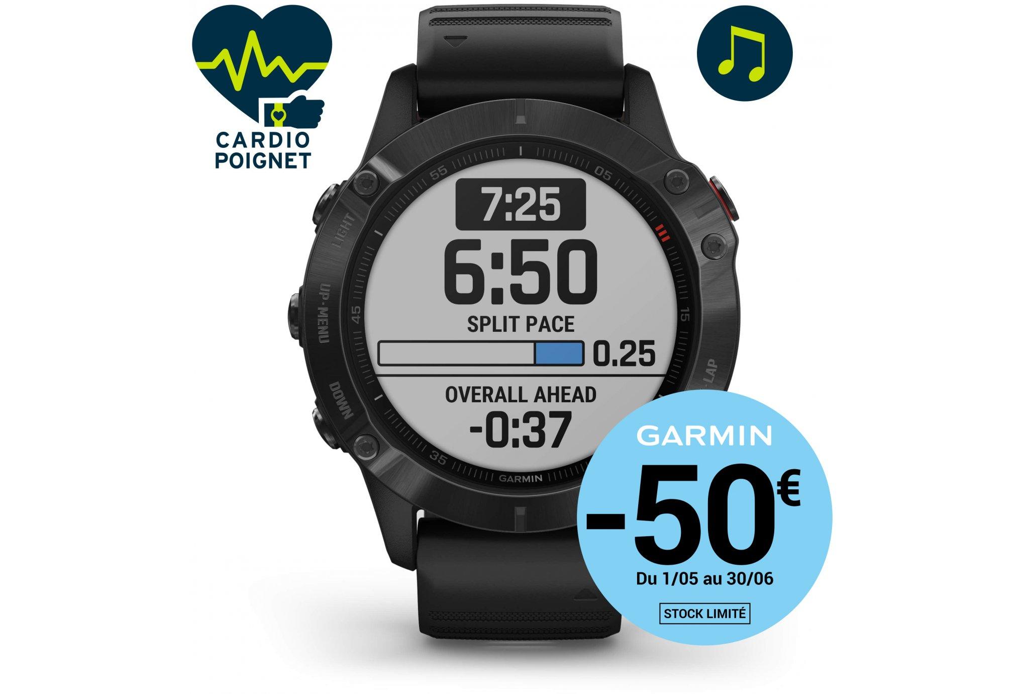 Garmin Fenix 6 Pro Cardio-Gps