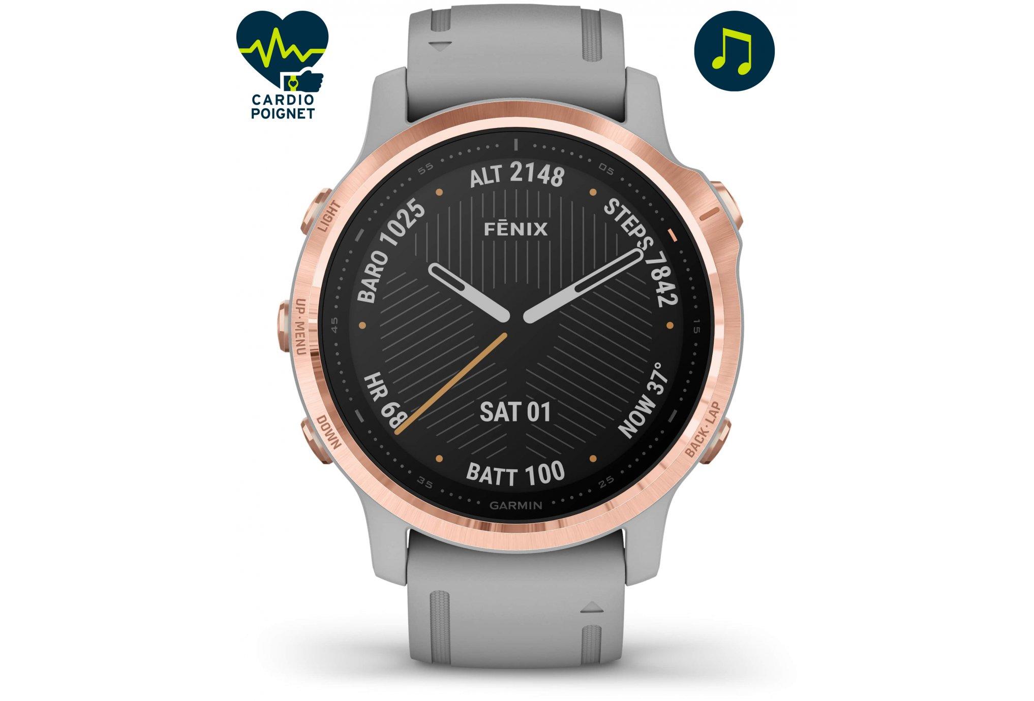 Garmin Fenix 6S Pro Sapphire Cardio-Gps