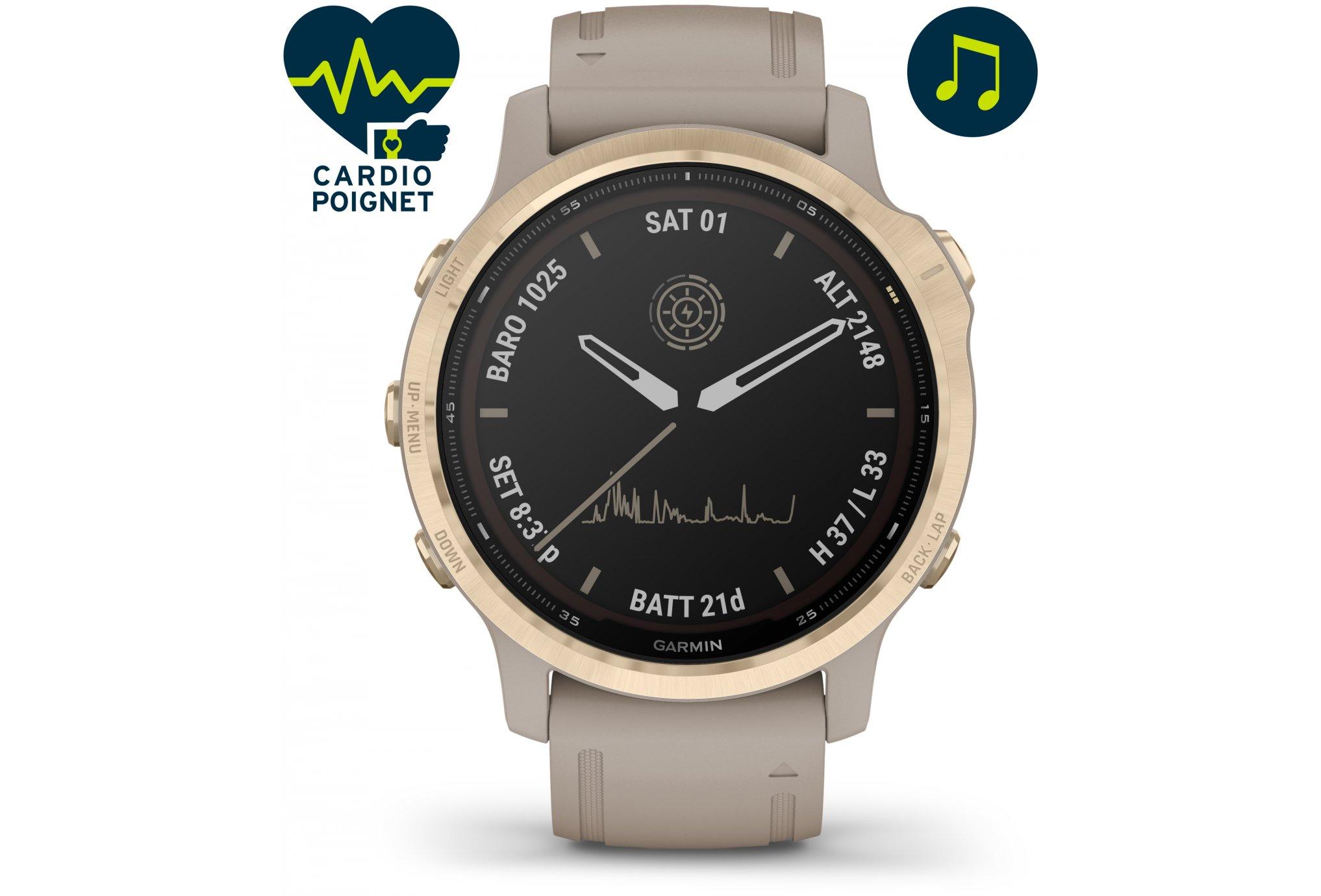 Garmin Fenix 6S Pro Solar Cardio-Gps