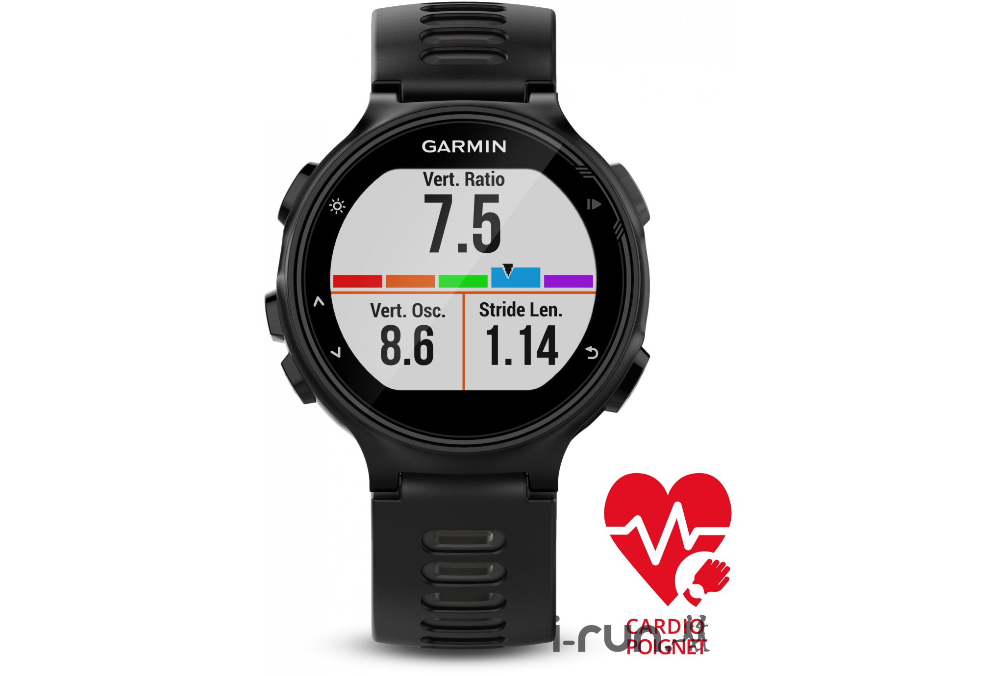 Garmin Forerunner 735xt tri-Bundle cardio-gps
