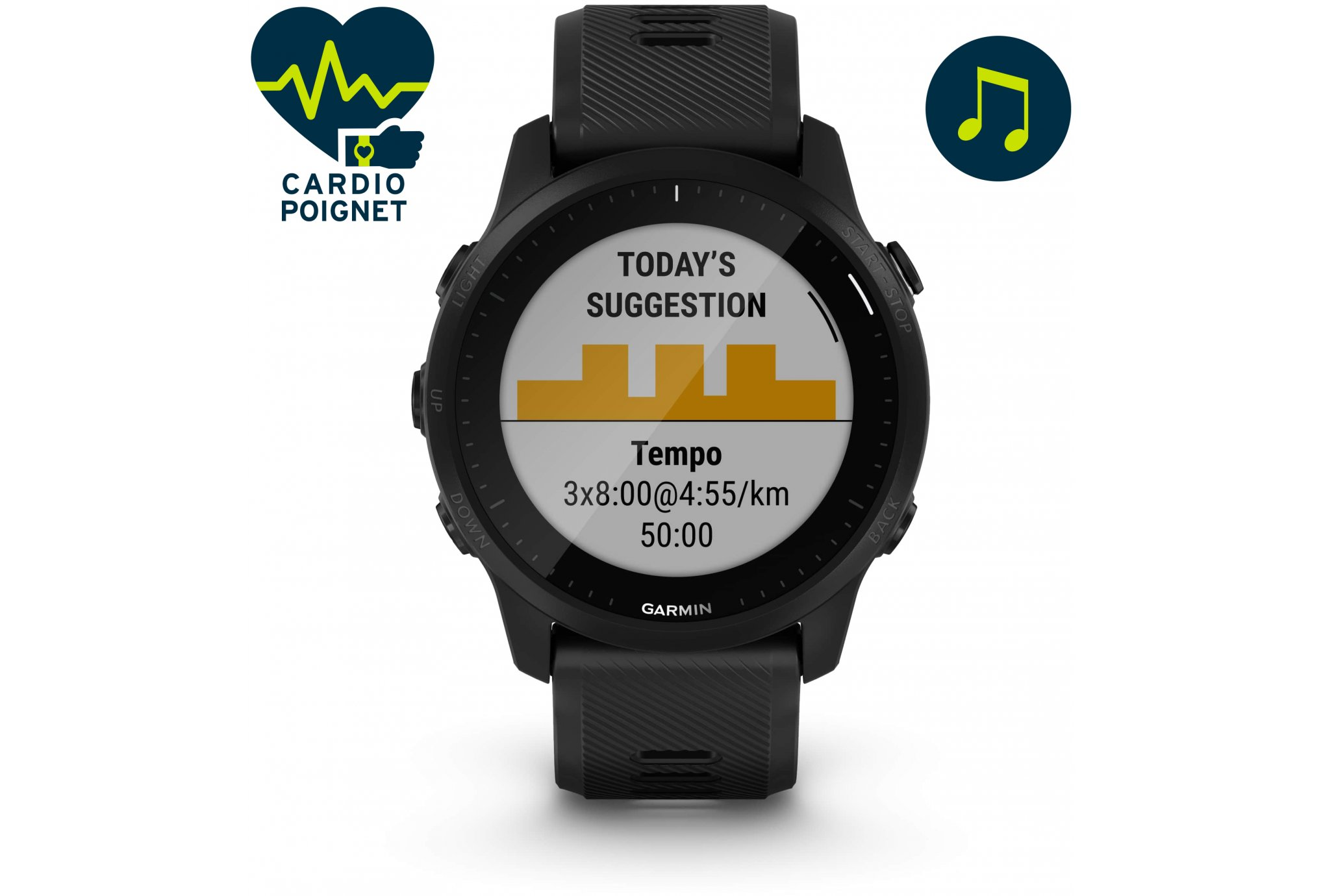 Garmin Forerunner 945 LTE Cardio-Gps