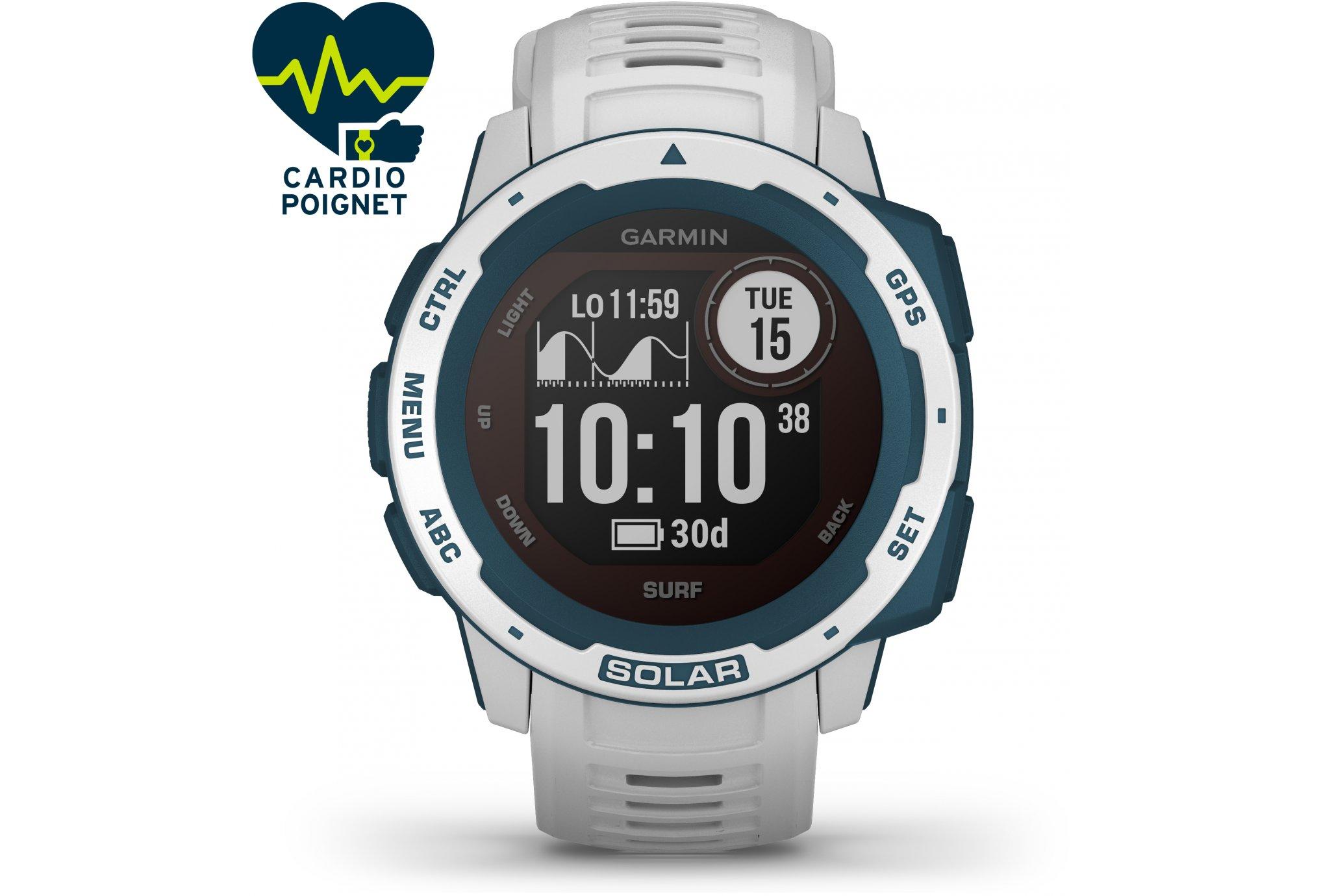 Garmin Instinct Solar Surf Edition Cardio-Gps