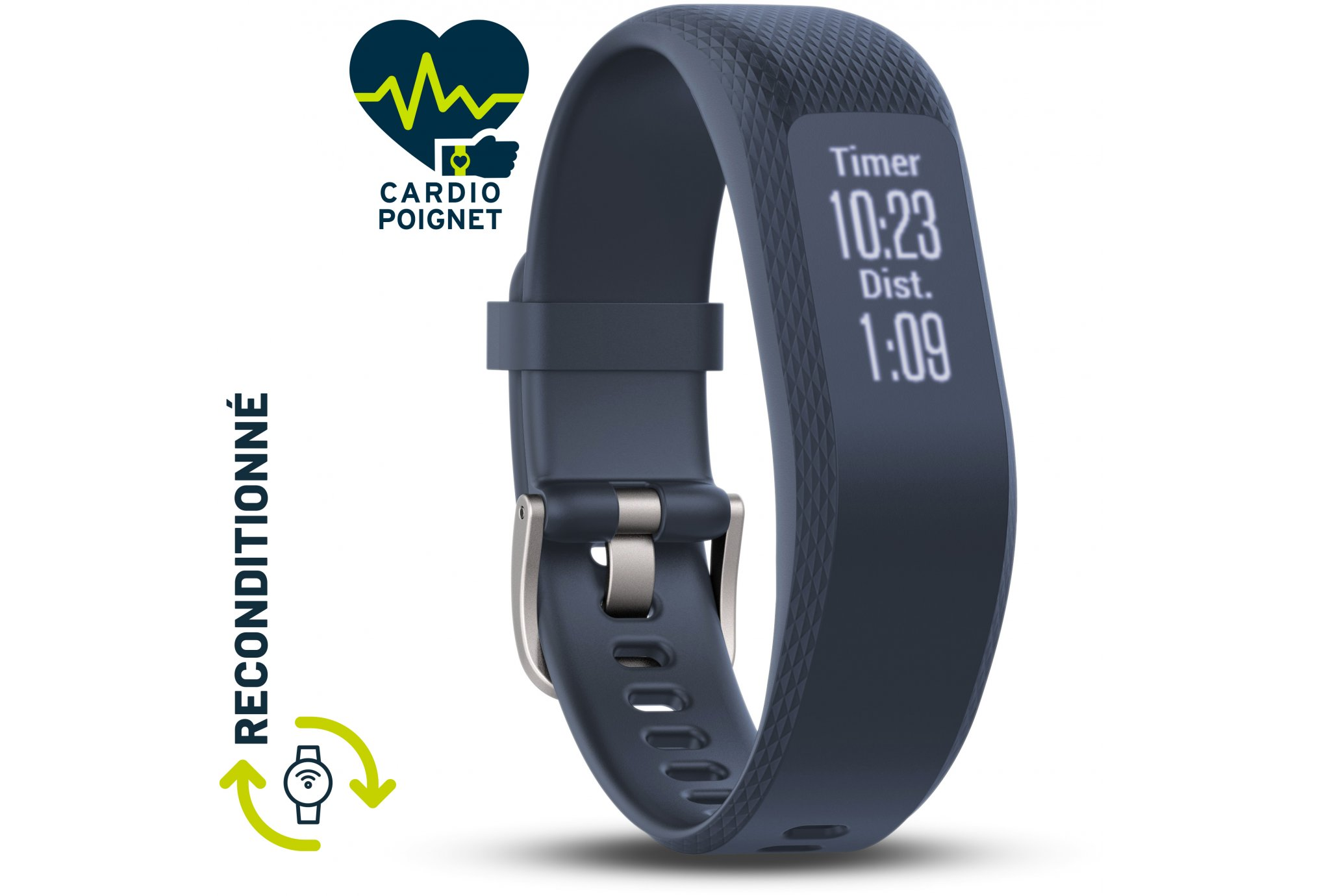 Garmin Vivosmart 3 -S/M - Reconditionné A+ Bracelets d'activité