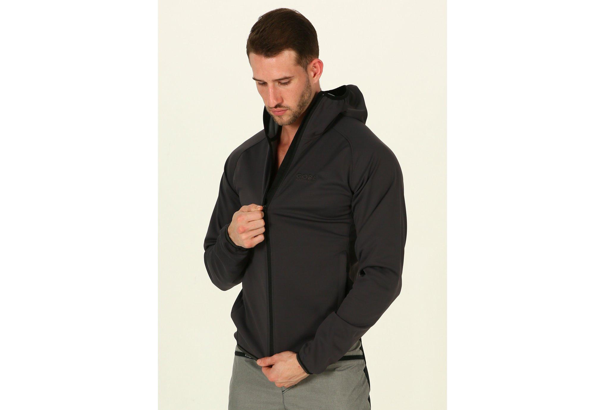 Gore Wear Essential Windstopper Softshell M Diététique Vêtements homme