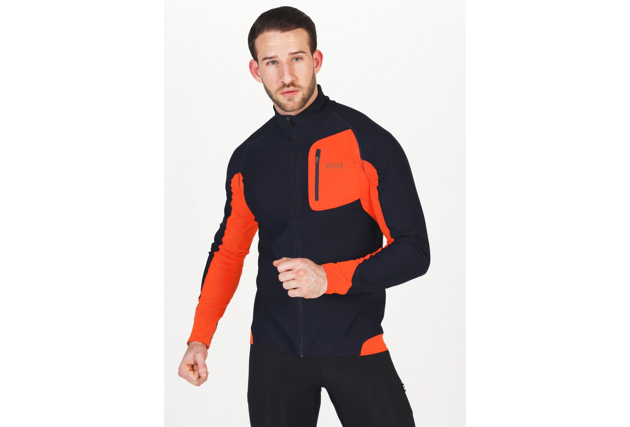 Gore Wear R3 Partial Gore Windstopper M vêtement running homme