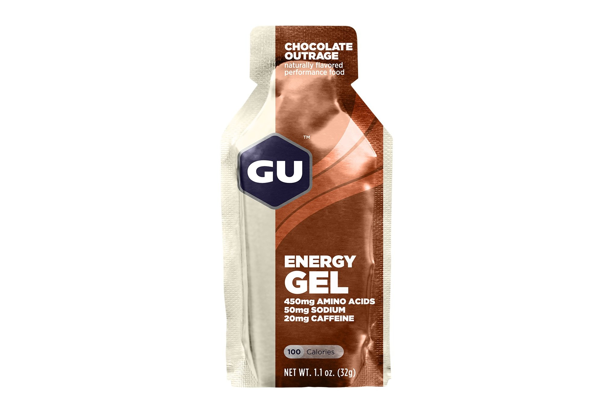 GU Gel Energy - Chocolate intenso Diététique Gels