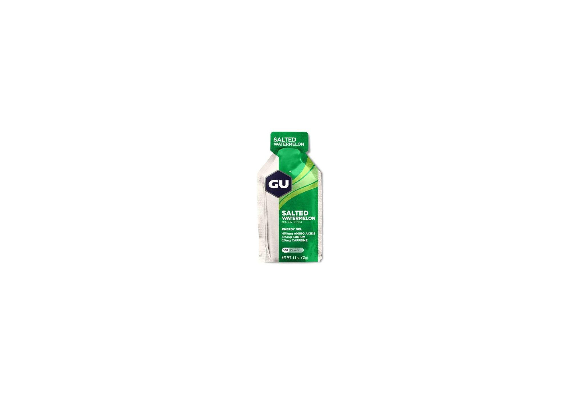 GU Gel Energy - Salted Watermelon Diététique Gels