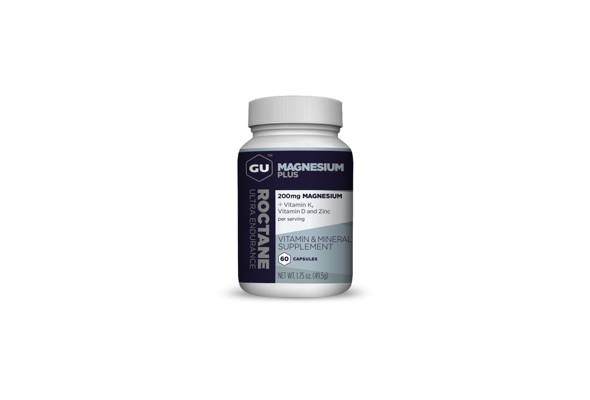 GU Roctane Magnesium Plus Capsules Diététique Compléments