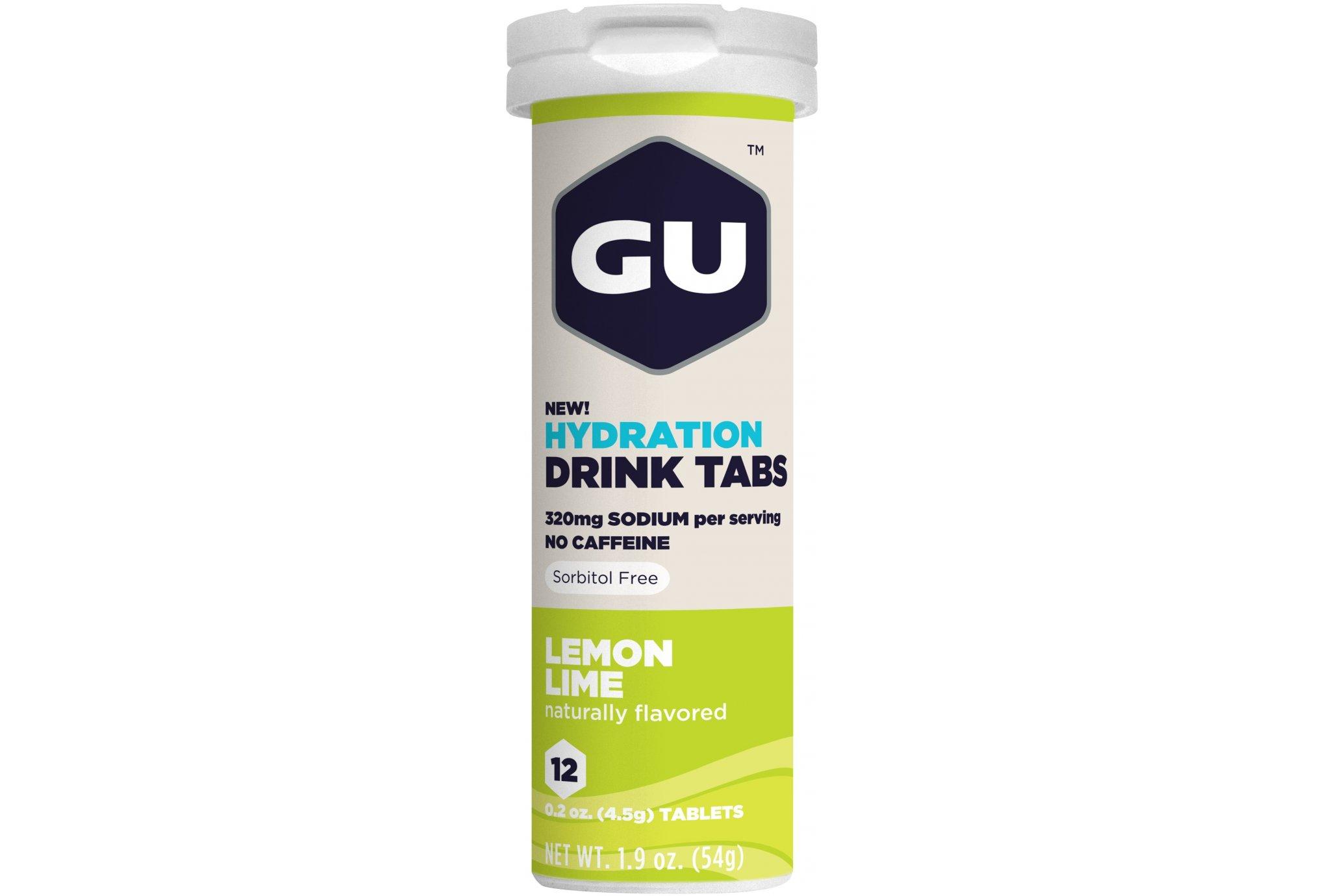 GU Tabletas Hidratantes Drink - Lima Diététique Boissons