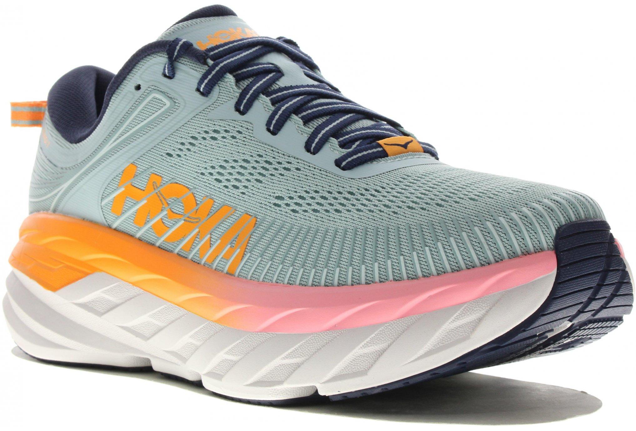 Hoka One One Bondi 7 Wide Chaussures running femme