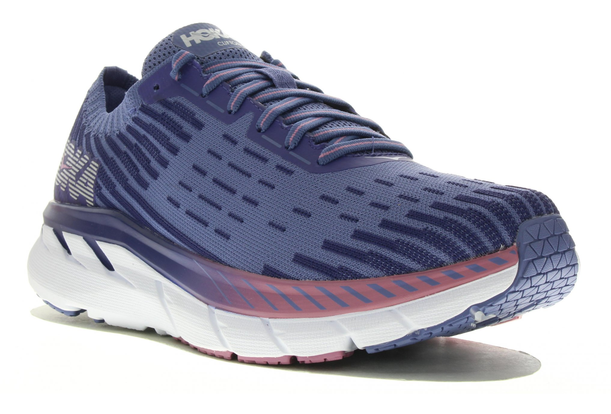 Hoka One One Clifton 5 Knit déstockage running