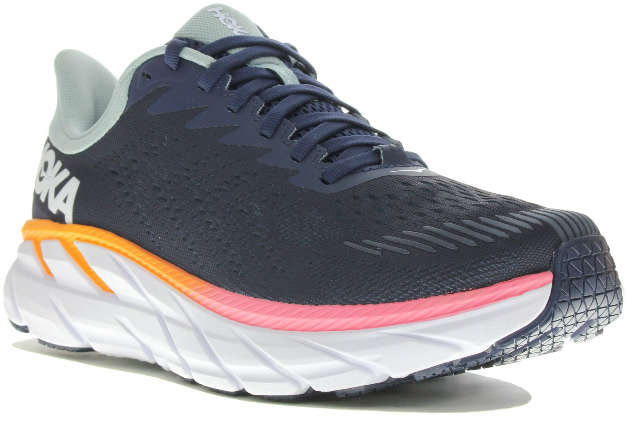 Hoka One One Clifton 7 Wide Chaussures running femme