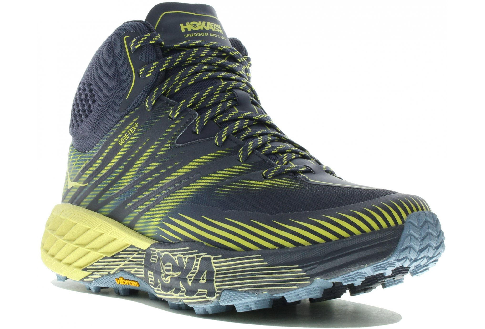 Hoka One One SpeedGoat Mid 2 Gore-Tex Chaussures homme