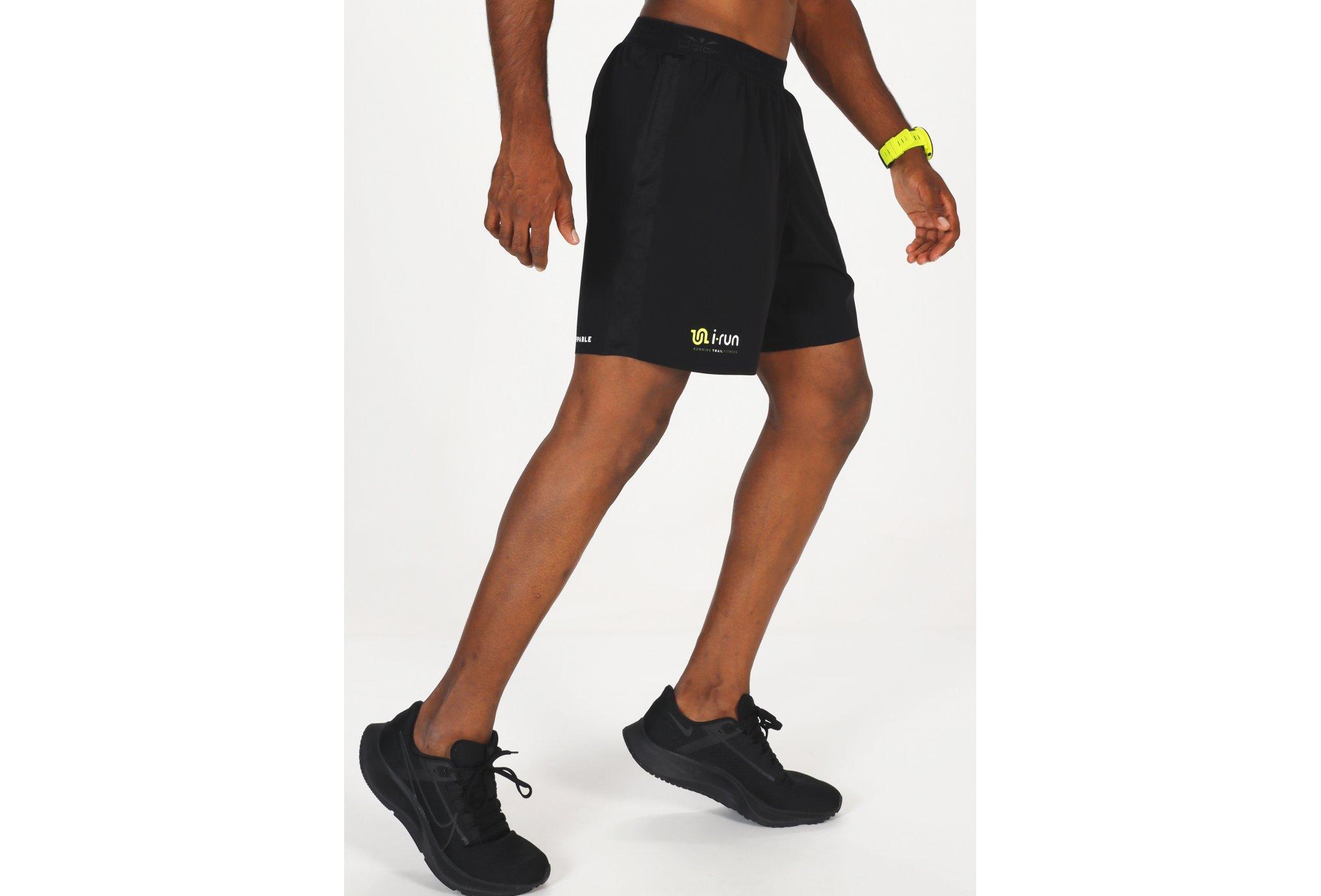 i-run.fr Short i-Run M Diététique Vêtements homme