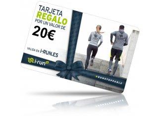 i-run.es tarjeta Regalo 20