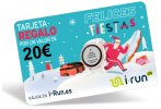 i-run.es Carte Cadeau 20 Spéciale Noël