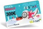 i-run.es Carte Cadeau 300 Spéciale Noël
