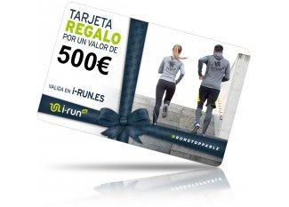 i-run.es tarjeta Regalo 500