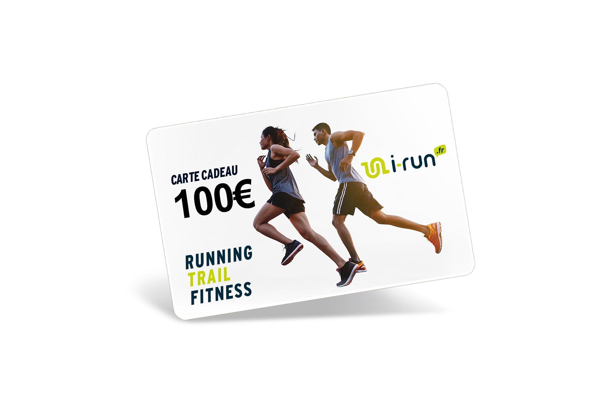 i-run.fr Carte Cadeau 100 Cartes Cadeau